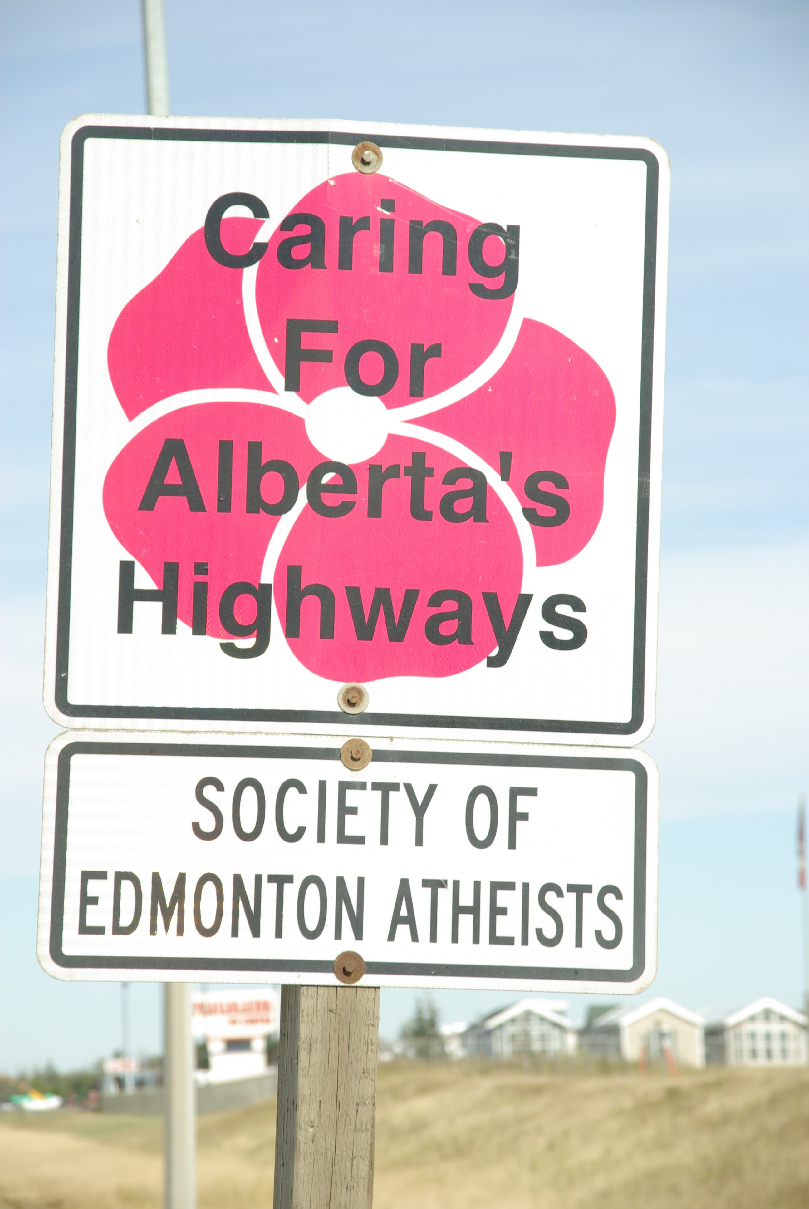 Caring for Alberta's Highways: Society of Edmonton Atheists