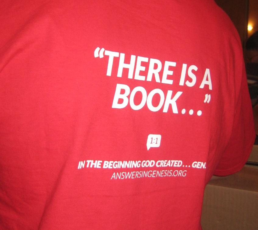 Ken Ham t-shirt