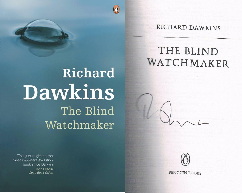 Signed copy Blind Watchmaker