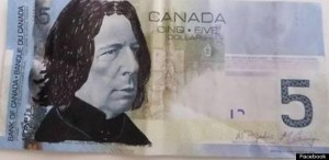 five bucks snape