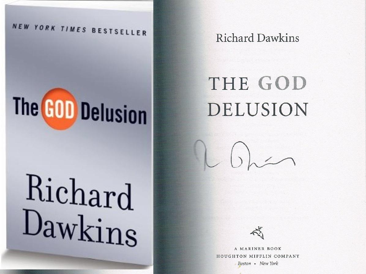 signed copy God Delusion